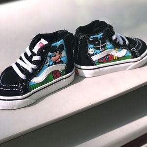 Vans Custom Mickey Mouse Toddler 5c